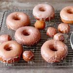 Безглютеновые пончики в сахарной глазури