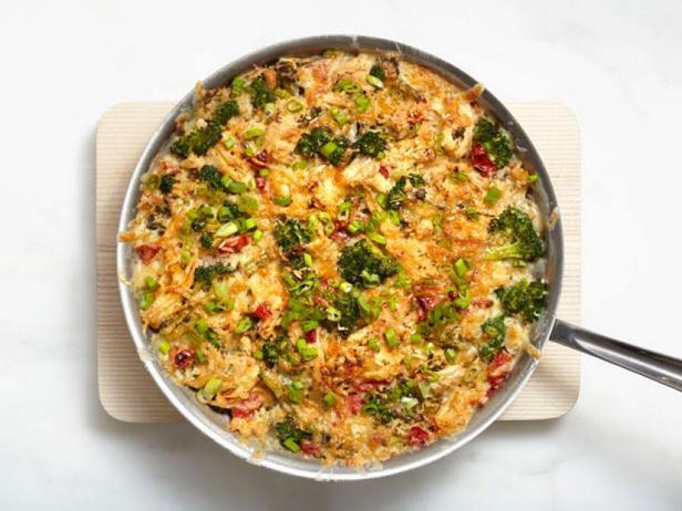 Фото Курица с рисом в духовке