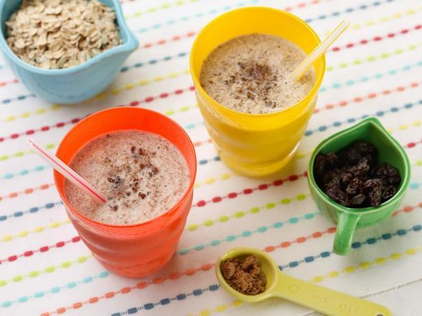Под силу детям: Смузи со вкусом овсяного печенья