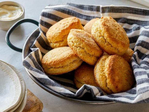 Фото Бездрожжевые булочки для обеда