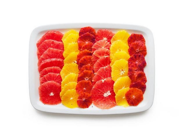 Цитрусово-ванильный салат
