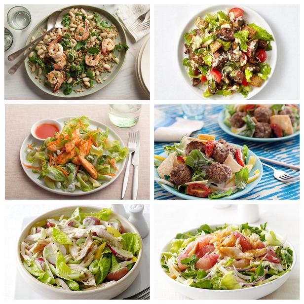 Фото Рецепты полезных салатов на ужин