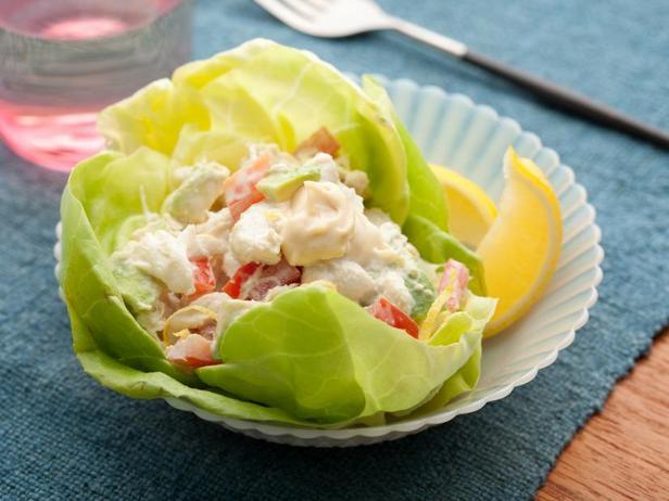 Американский крабовый салат-коктейль