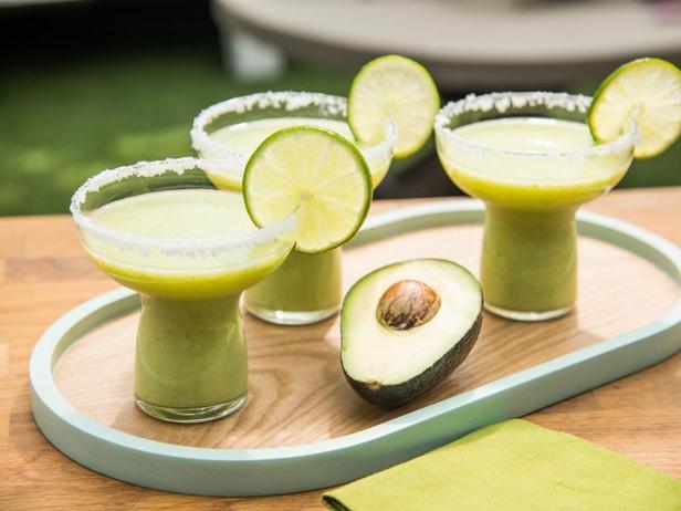 Фото Замороженная «Маргарита» с авокадо