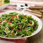 Маринованный салат для пикника