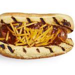 Чили-дог: хот-дог с говяжьим фаршем