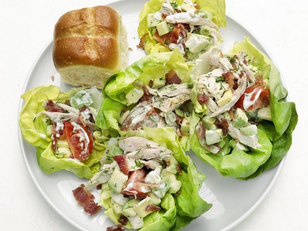 Простые рецепты салатов с курицей