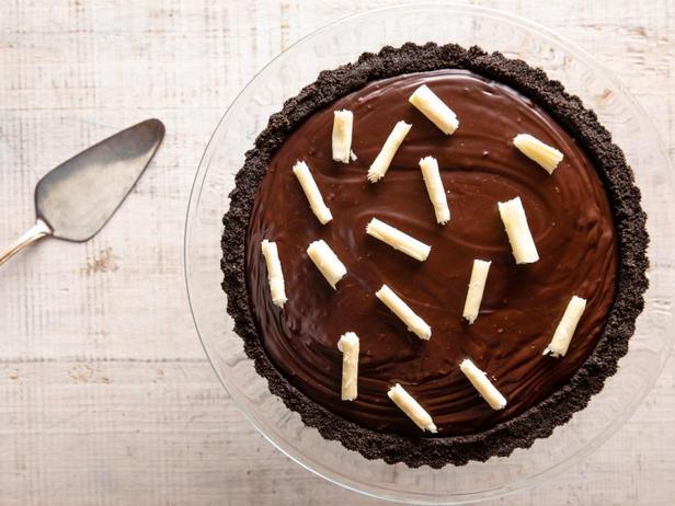 Фото Шоколадный тарт без выпечки