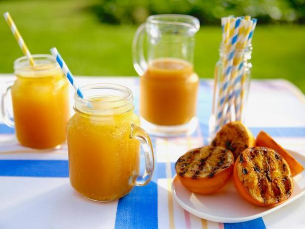 Фото Газировка из жареного на гриле апельсина