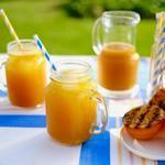 Газировка из жареного на гриле апельсина