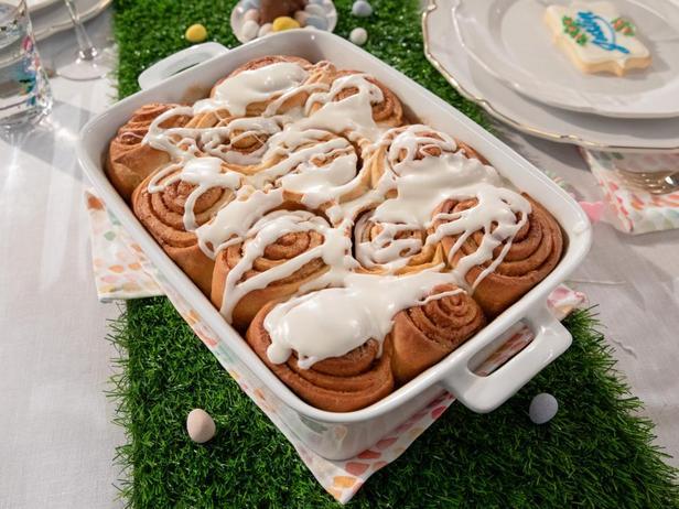 Фото Итальянские булочки с корицей