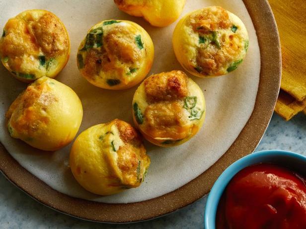 Фото Яичная закуска с картофелем и сыром в мультиварке
