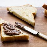 Шоколадная паста из нута и фундука