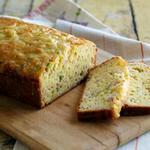 Быстрый хлеб с ветчиной и сыром