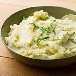 Картофельное пюре с оливковым маслом и зеленью