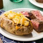 Картофельные лодочки, запечённые с сыром в духовке