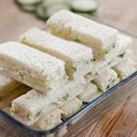 Чайные сэндвичи с огурцом