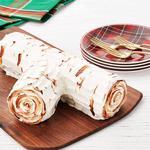 Торт-айсбокс «Рождественское полено»
