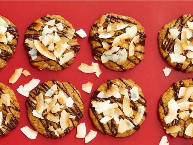 Фото Овсяное печенье с кокосом