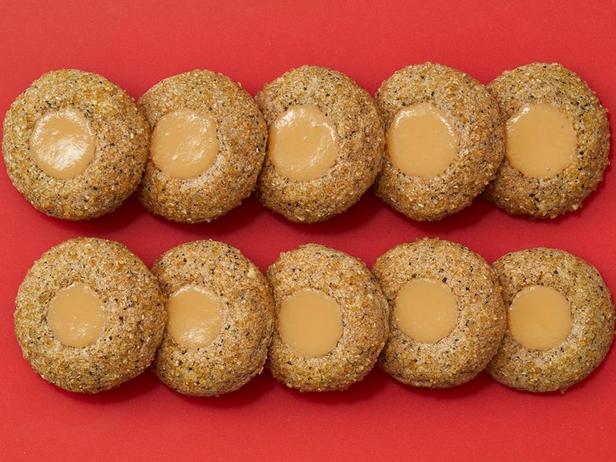 Фото Печенье с мягким ирисом