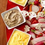 Дип соус Айоли с овощными палочками
