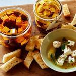 Маринованный сыр фета – 3 рецепта