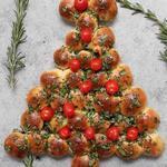 Пицца «Рождественская ёлка»