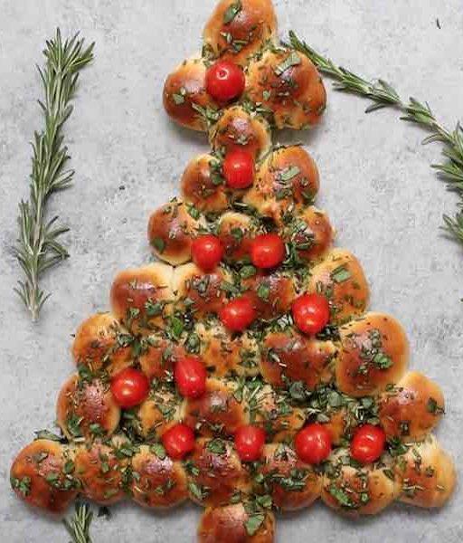 Фото Пицца «Рождественская ёлка»
