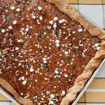 Пирог с начинкой «Смор»