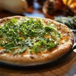 Пицца с мускатной тыквой и руколой