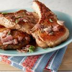 Свинина на косточке алла-пиццайола