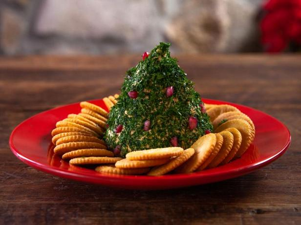 Фото Сырная закуска «Рождественская ёлка»