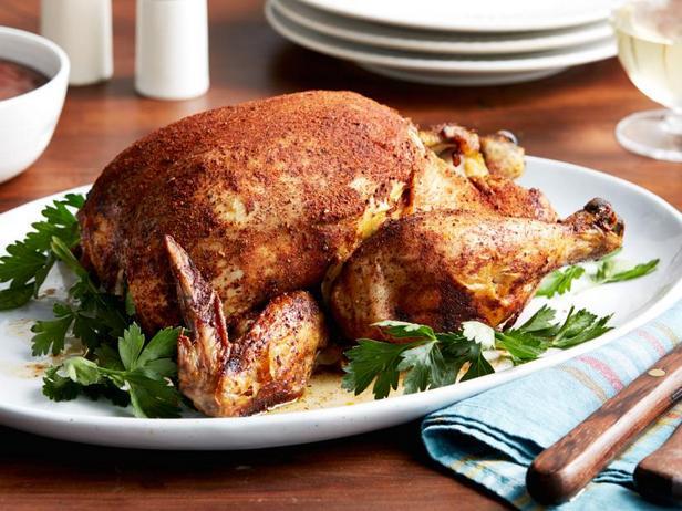 Фото Целая курица в медленноварке