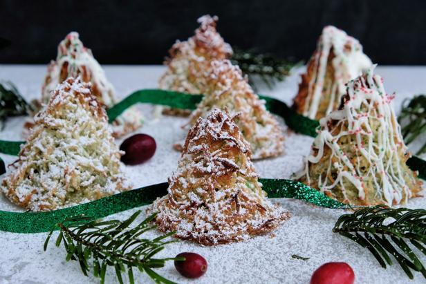 Фото Макаруны: базовый рецепт кокосового печенья