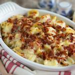 Макароны по-американски, запечённые с сыром в духовке (Мак-н-чиз)