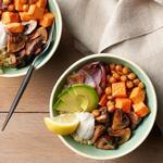 Зерновой боул с печёными овощами