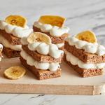 Пирожные «Наполеон» из бананового хлеба