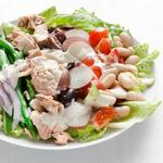 Салат «Нисуаз» с консервированной горбушей