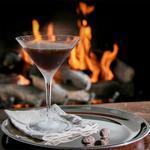 Шоколадно-вишнёвый мартини