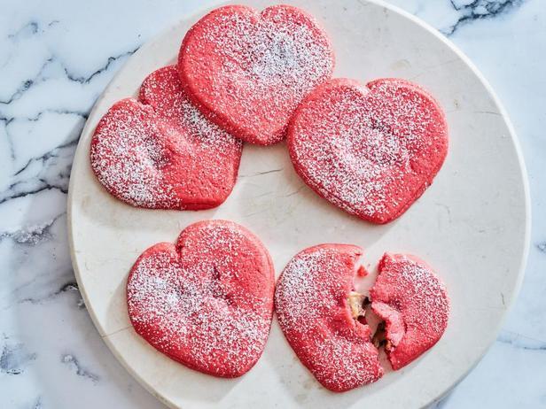 Фото Песочное печенье с сюрпризом «Валентинки»