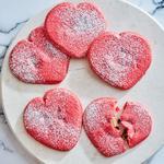 Песочное печенье с сюрпризом «Валентинки»
