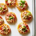 Мини-пиццы из поленты