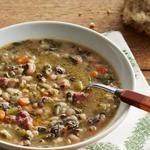 Суп из фасоли «Чёрный глаз»