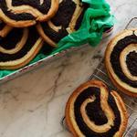Печенье с арахисовой пастой и брауни