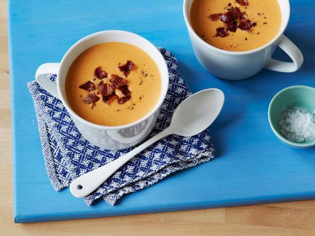 Фото Томатный крем-суп