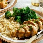 Курица терияки с рисом и брокколи в мультиварке