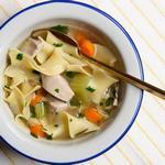 Самый лучший куриный суп с лапшой