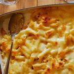 Сырная запеканка из макарон