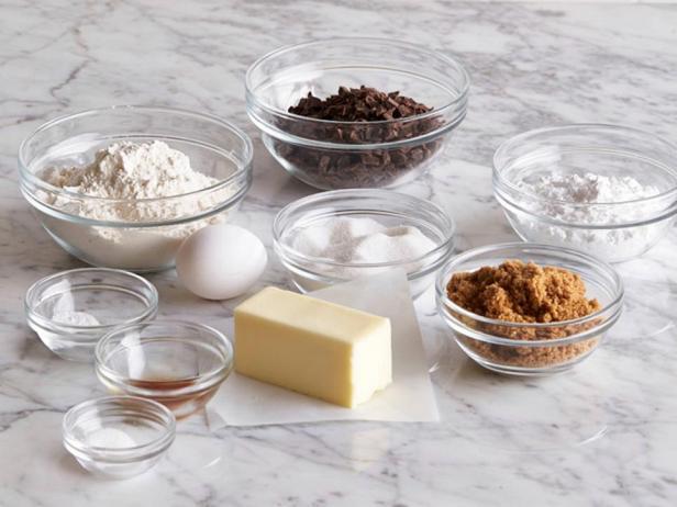 Классическое домашнее печенье с кусочками