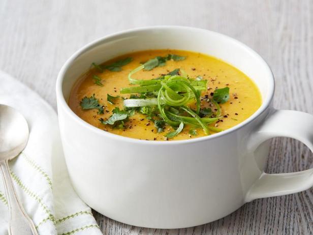 Крем-суп с кокосовым молоком